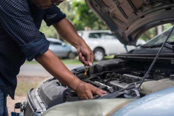 علت لرزش موتور